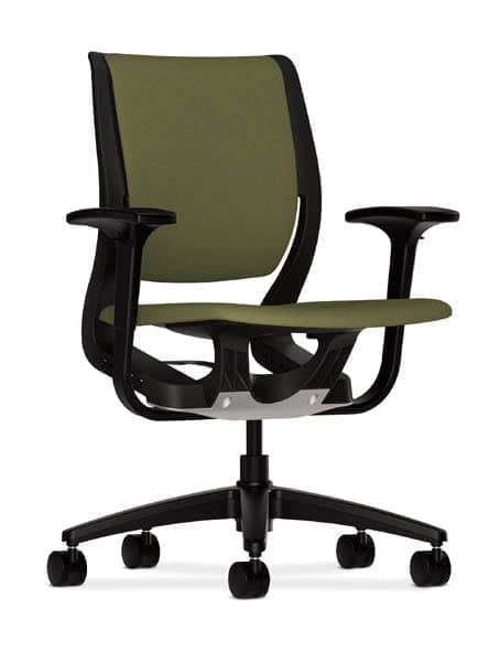 Shown with optional adjustable height arms