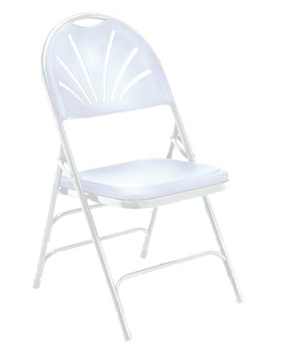 NPS 1100 Series Fan Back Plastic Folding Chair
