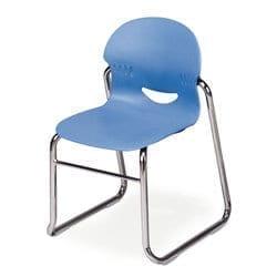 Virco I.Q. Series Sled Stack Chair U2013 13u2033 Seat Height