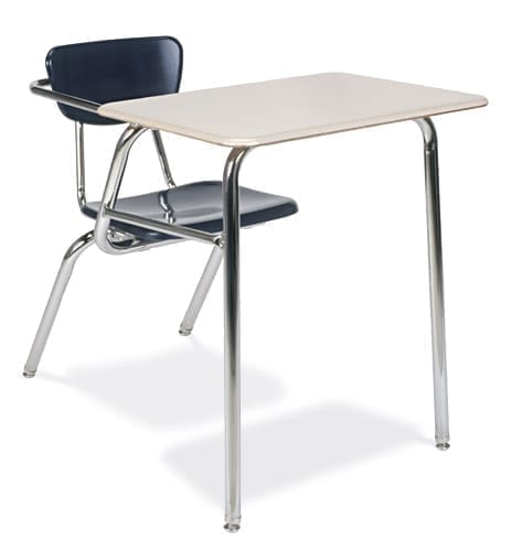 Virco 3000 Series Hard Plastic Student Chair Desk Combo School And
