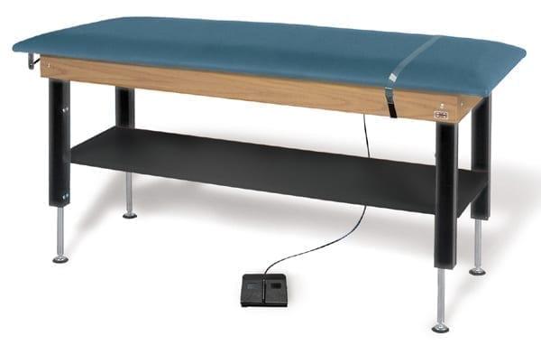 Hausmann Proteam Hi Lo Power Treatment Table With Shelf