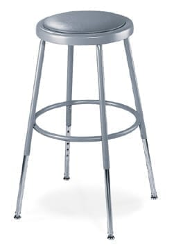 Fabulous Nps 6400 Series Adjustable Height Padded Steel Stools Gamerscity Chair Design For Home Gamerscityorg