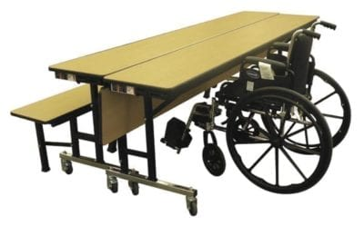 Can be used as an ADA table