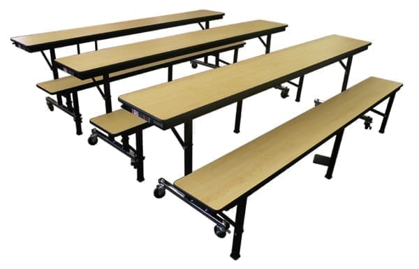 Can be used for educational or institutional seating