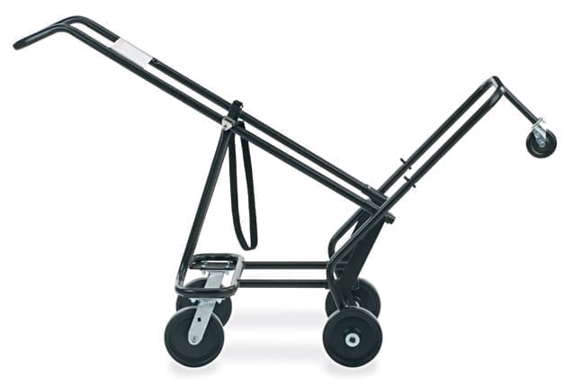 virco 2 wheel chair truck for virco stack chairs school and office