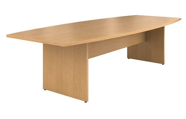 HON Preside Series Boat Shape Laminate Conference Tables School - Hon preside table
