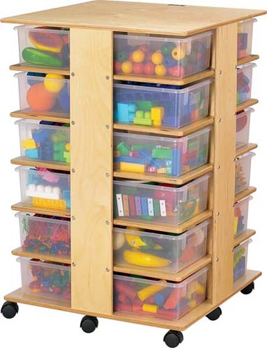 Jonti Craft 24 Cubbie Tower Storage Cabinet