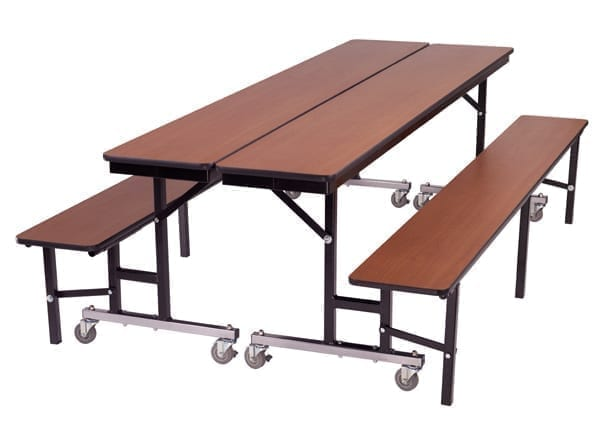 Can be ganged together as a table