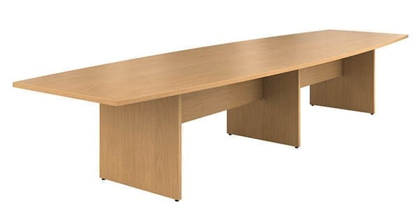 HON Preside Series Boat Shape Laminate Conference Tables School - Hon racetrack conference table