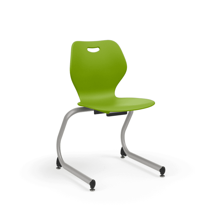 Ki Intellect Wave Series Classroom Cantilever Stackable Chair School And Office Direct