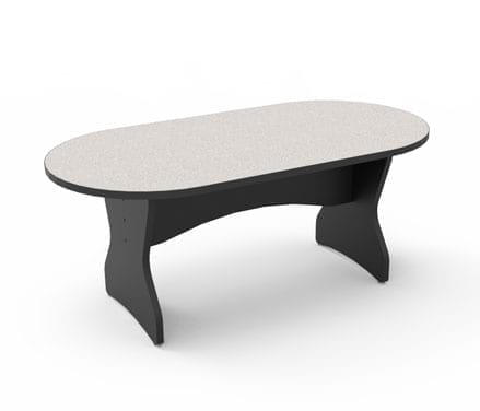 Race Track Shape Conference Table