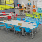 Cantilever Desk Classroom